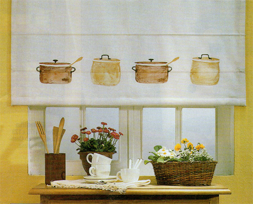Cortinas de cocina ideas para decorar disear y tattoo for Como decorar una cocina