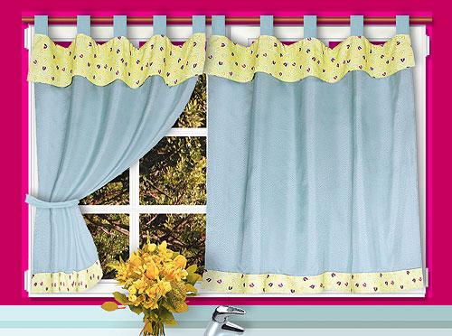 Como hacer cortinas de cocina car interior design - Colores de cortinas ...