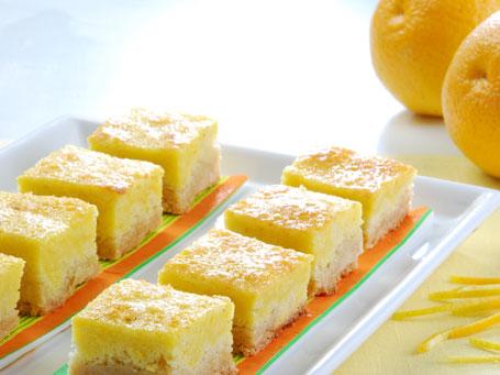 Cocina facil cuadrados de naranja cocina decocasa for Videos de cocina facil