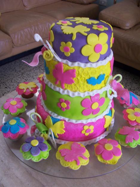 Decoraci n torta cocina decocasa for Decoracion de tortas espejo