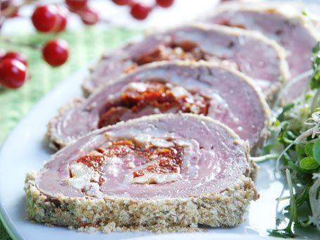 Recetas De Cocina Navidad | Recetas De Navidad Lomo Relleno Cocina Decocasa